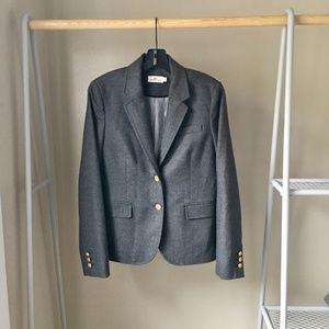 Vineyard Vines Grey Collegiate Wool Blazer Jacket